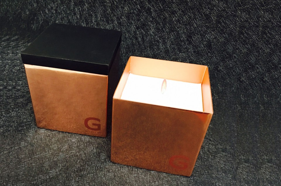G GIVENCHY, Shanghai // Scented candle & copper